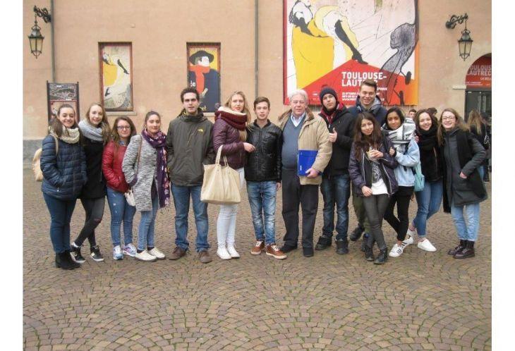 La visita del 39 leardi 39 alla mostra di toulouse lautrec a for Mostra toulouse lautrec