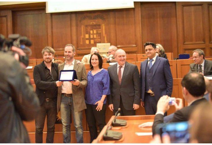 L 39 architetto casalese paolo scoglio premiato con lo wt - Architetto a milano ...