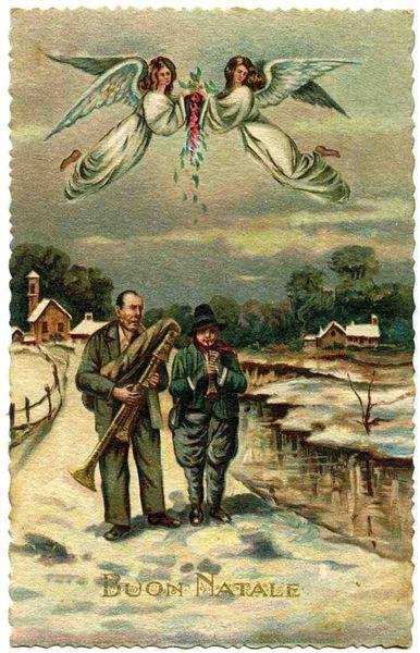 Cartoline Di Natale Depoca.A Treville La Mostra Di Cartoline D Epoca Natalizie