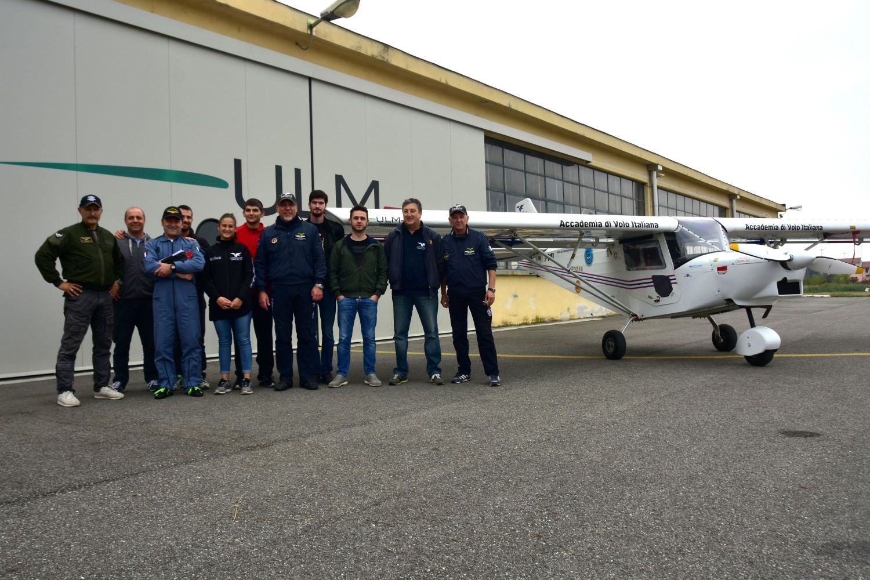 Accademia di volo nuovi piloti e gemellaggio for Cappa arredamenti casale monferrato